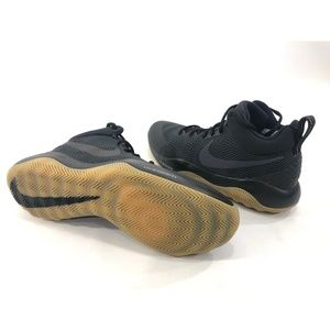 size 40 e6635 494ba Nike Shoes - Nike Zoom Rev Men s Black Gum Basketball Shoes
